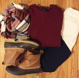plain scarf, blanket scarf, plaid blanket scarf, bean boots